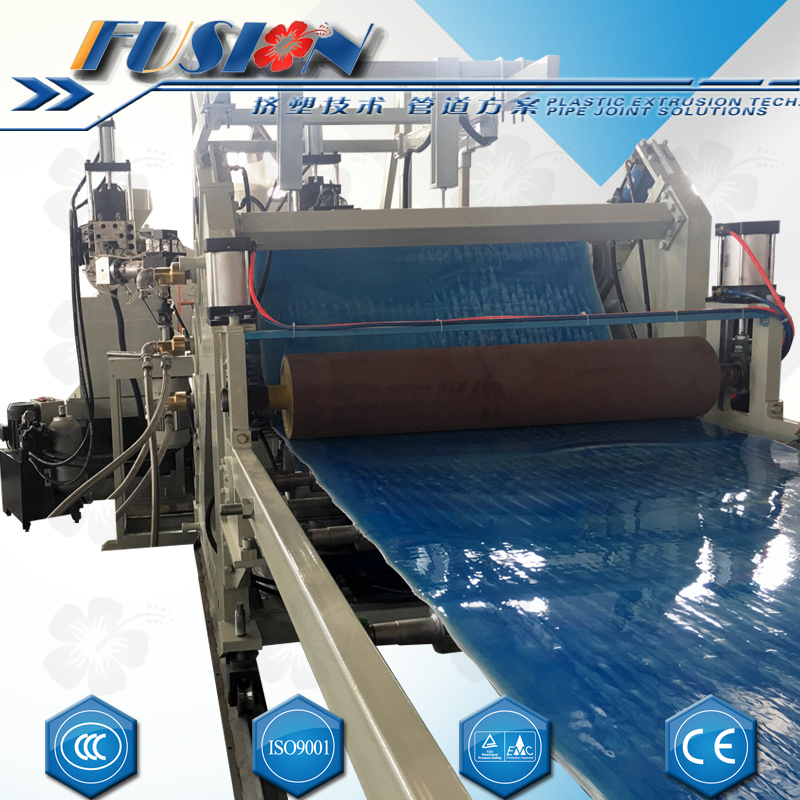 plastic sheets extrusion line
