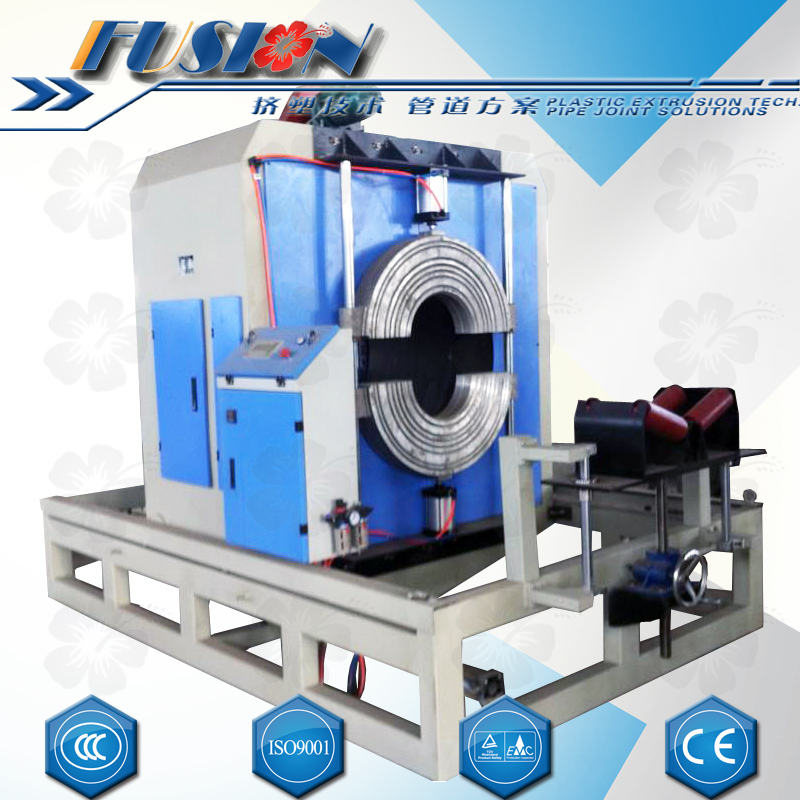 Thermal Insulation Pipe HDPE Shell Extrusion Line